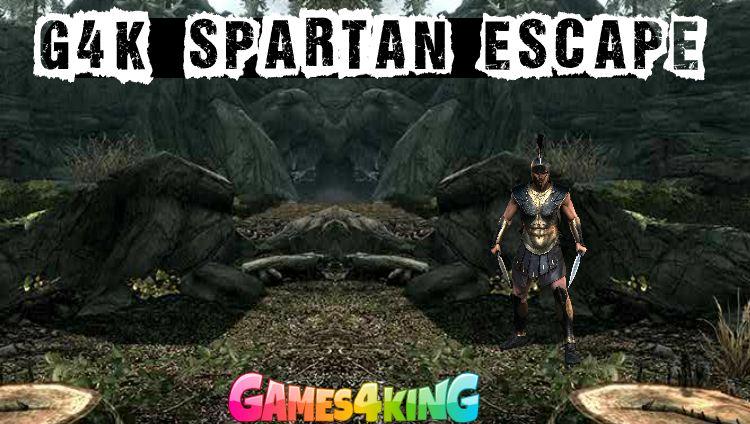 Play Games4King Spartan Escape